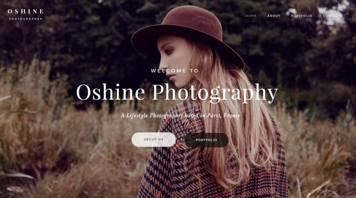 Oshine Popular Multipurpose WordPress Theme