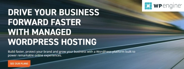 WP Engine - Best Managed WordPress Hosting