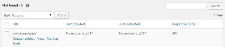 Search Console Errors