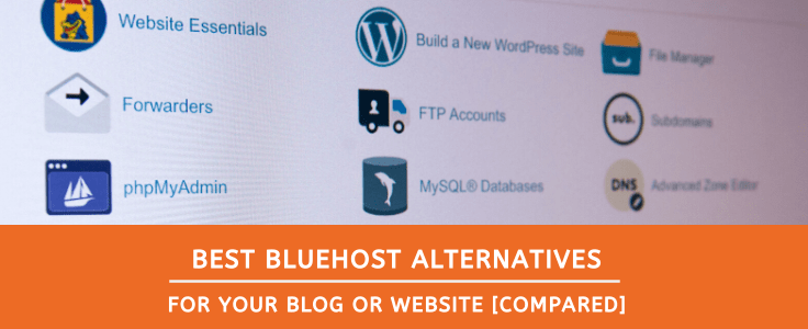 best bluehost alternatives for wordpress site