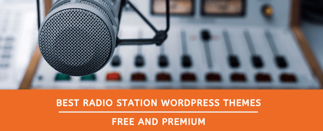 best radio station wordpress themes