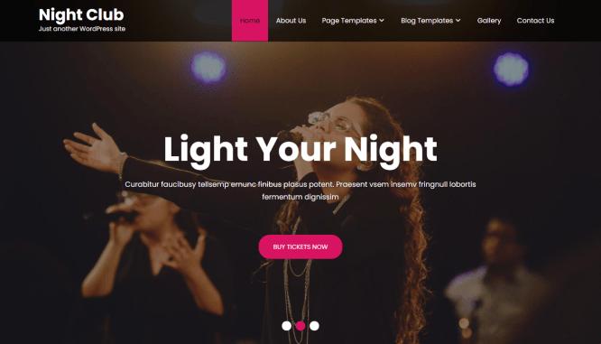 night club lite free online radio station theme